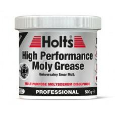 Holts High Performance Moly Grese - ПОДХОДЯЩА ЗА КАРЕТА, КАРДАНИ И ЛАГЕРИ 500 гр.