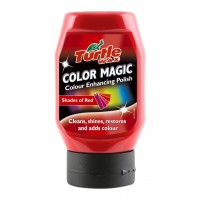 Полирпаста Turtle Wax Color Magic - 300 мл - червена