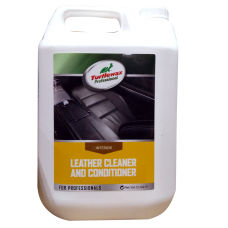 Препарат за кожа Turtle Wax Leather Cleaner and Conditioner  - 5 л