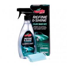 Комплект за премахване повърхностния слой на боята на автомобил Turtle Wax Refine & Shine Clay Bar Kit