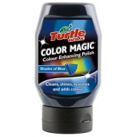 Полирпаста Turtle Wax Color Magic - 300 мл - синя